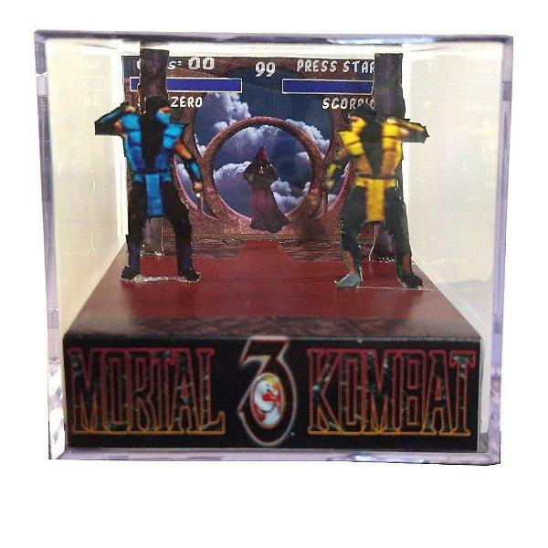 Diorama Cubo Mortal Kombat