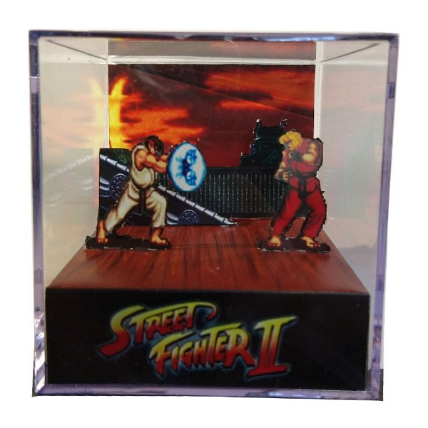 Diorama Cubo Street Fighter