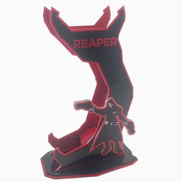 Suporte Headset Overwatch - REAPER