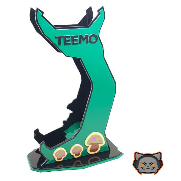 Suporte Headset League of Legends - TEEMO