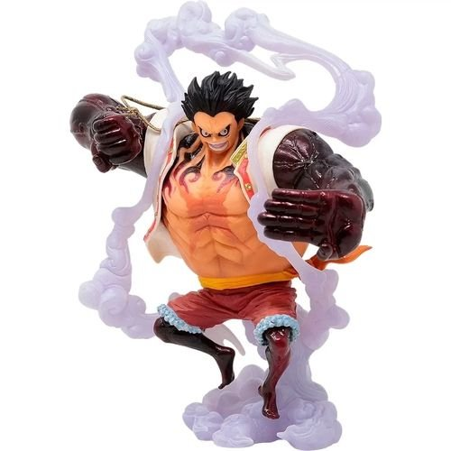 ACTION FIGURE ONE PIECE - MONKEY D LUFFY GEAR4TH (SNAKE MAN) KING OF ARTIST SPECIAL