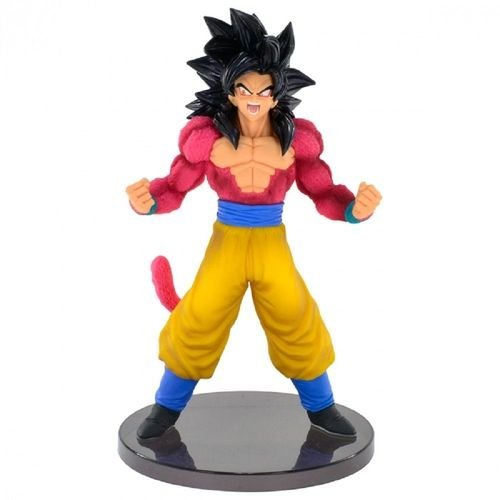 ACTION FIGURE DRAGON BALL GT - GOKU SUPER SAYAJIN 4 - BLOOD OF SAIYANS SPECIAL III