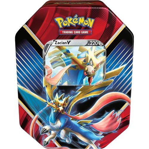 Deck de Lata Pokémon Lendas de Galar - Zacian