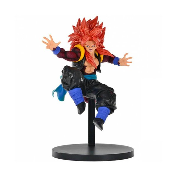 ACTION FIGURE SUPER DRAGON BALL HEROES - GOGETA SUPER SAYAJIN 4 XENO - 9TH ANNIVERSARY
