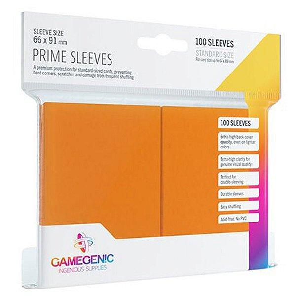 Sleeves Gamegenic Prime (Laranja)