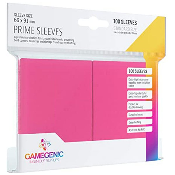 Sleeves Gamegenic Prime (Rosa)