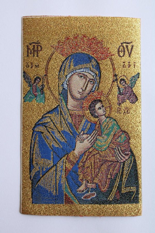 Mini Tapeçaria Nossa Senhora do Perpétuo Socorro