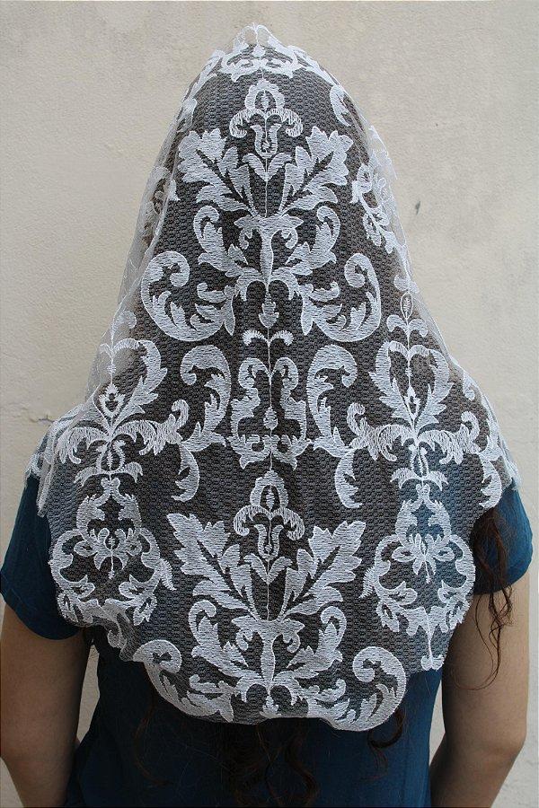 Véu Branco de Arabescos