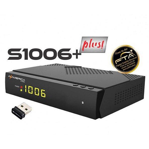 AZAMERICA s1006 PLUS - IKS / SKS / CS / WI-FI - (ACM)
