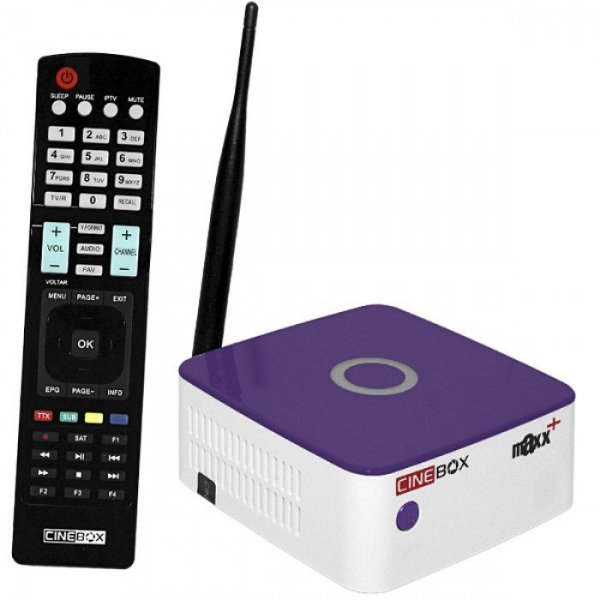 CINEBOX FANTASIA MAXX + PLUS - IKS / SKS / CS / ISDB-T / WI-FI - (ACM)