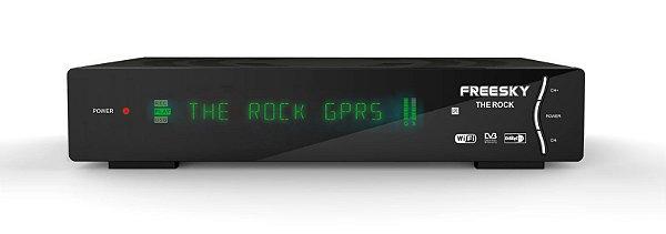 FREESKY THE ROCK - IKS / SKS / CS / CABO / ISDB-T / WI-FI