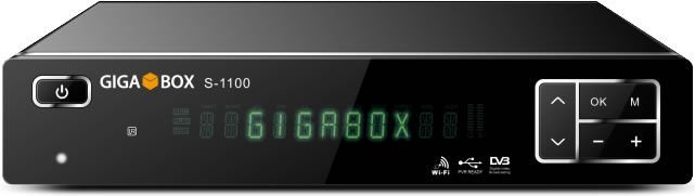 GIGABOX s1100 - IKS / SKS / CS / WI-FI - (ACM)