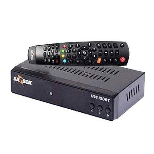 SATBOX H98 / ISDB-T - P/ CABO