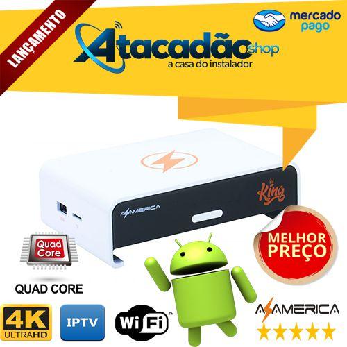 AZAMERICA KING IPTV 4K WIFI QUAD-CORE