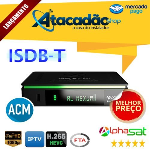 ALPHASAT NEXUM IKS/SKS/CS/IPTV/VOD (ACM)