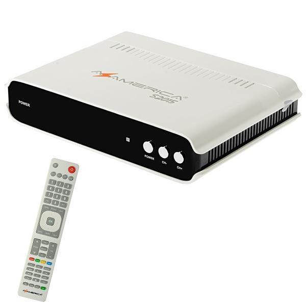 AZAMERICA s2015 - ANDROID 7.0 / Wi-Fi / IKS / SKS / CS / IPTV / 3D - (ACM)