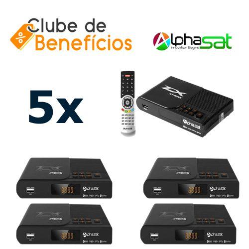 ALPHASAT TX - 5 PEÇAS - DESCONTO (ATACADO)
