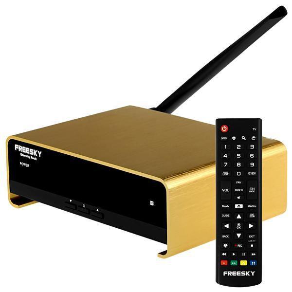 FREESKY ETERNITY ROCK SKS / IKS / 4K / VOD / IPTV /ANDROID