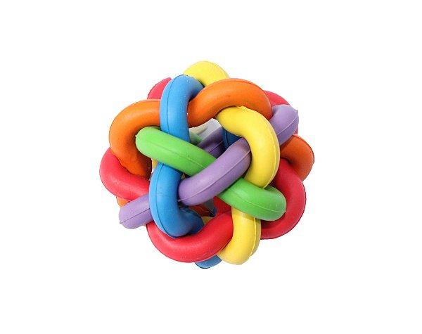 Bola colorida entrelaçada