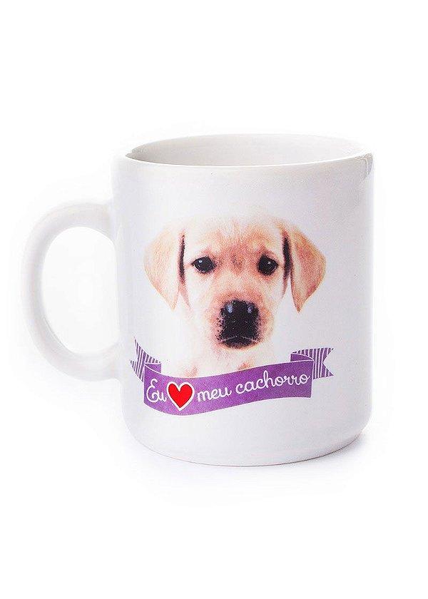 Caneca branca meu cachorro Labrador 270ml