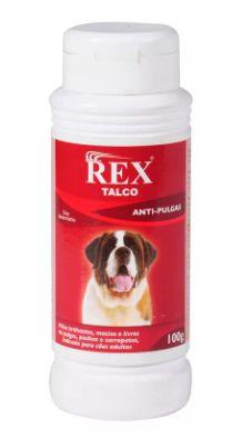 Talco anti-pulgas Rex