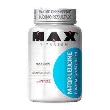 m-TOR Leucine 120 Cápsulas - Max Titanium