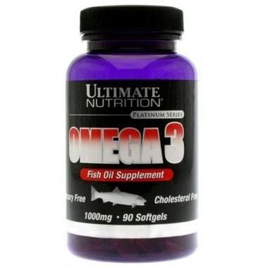 Ômega 3 1000mg 90 SoftGels - Ultimate Nutrition