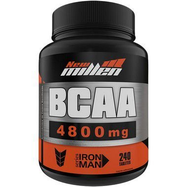 BCAA 4800mg 240 Tabletes - New Millen
