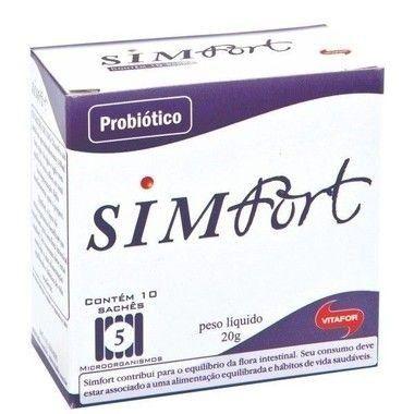 Simfort 10 Sachês Vitafor
