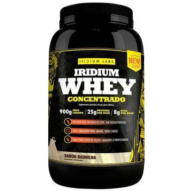 Iridium Whey Concentrado 900g - Iridium Labs