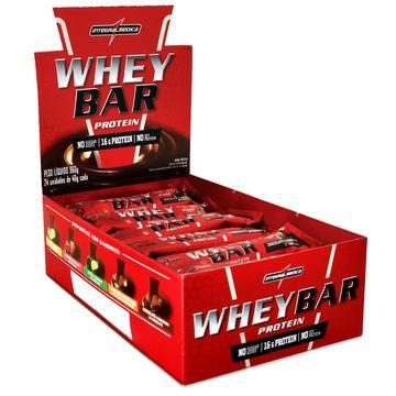 Caixa Whey Bar 40g 24 Unidades - IntegralMédica