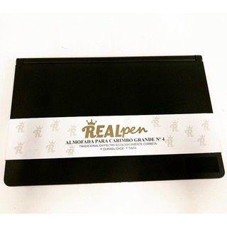 Almofada de mesa para carimbos Realpen - N. 04 90x145 mm