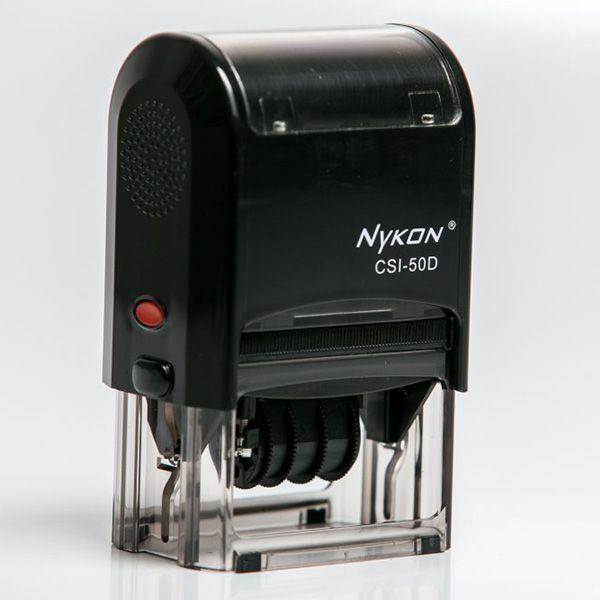 Carimbo Retangular CSI - 50D (CNPJ) 40X60   -   (Sem personalização)