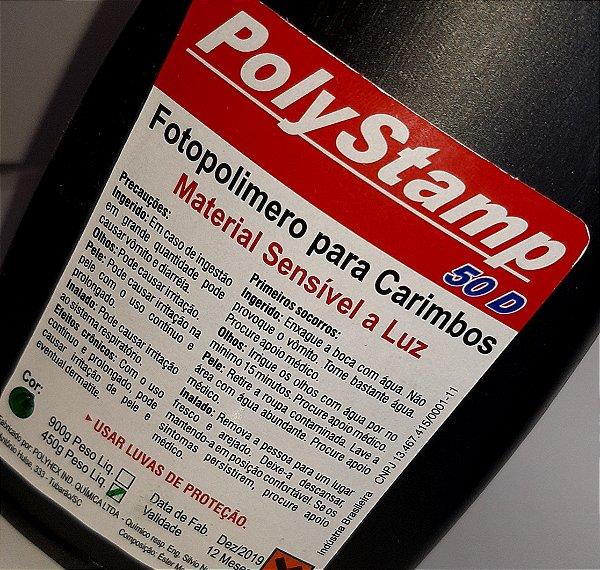 Polímero Polystamp 450g Cristal