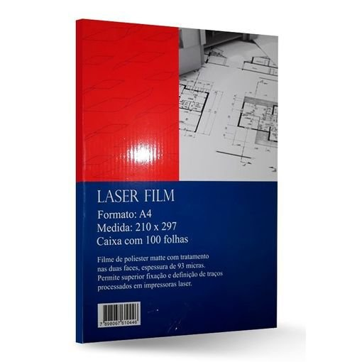 Laserfilm Pacote com 100 folhas 90g. A4