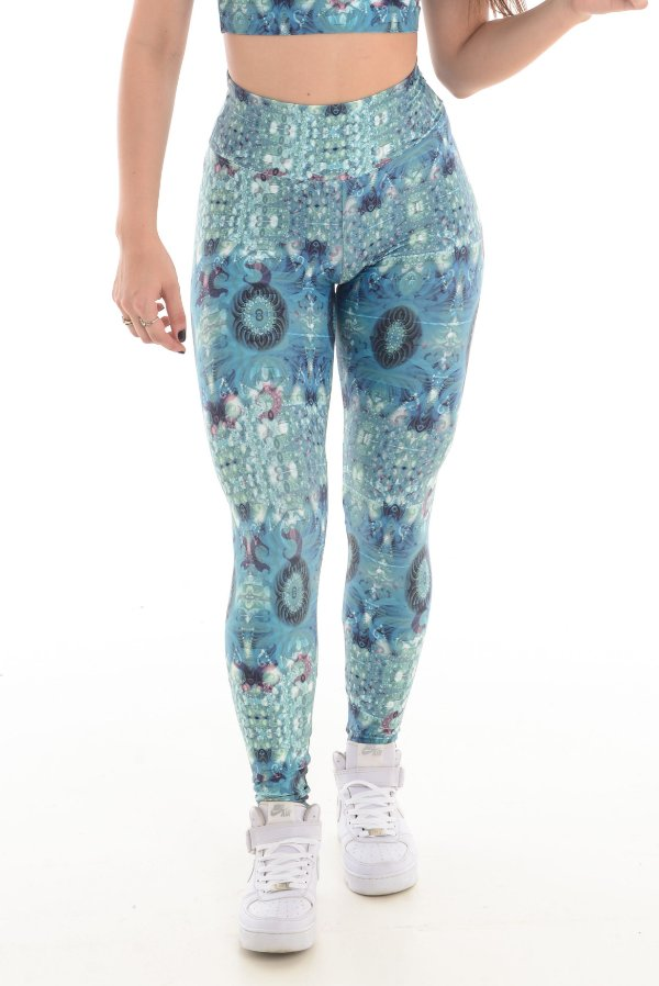 LEGGING ESTAMPADA LIGHT - ESMERALDA 8402