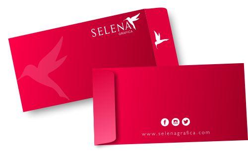 Envelopes Personalizados com Aba Lateral 120g 50 unidades