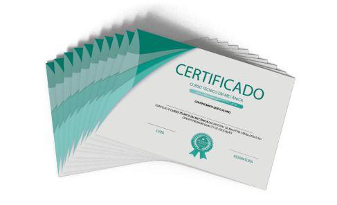 Certificado Personalizado A5