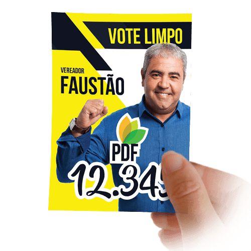 Santinho Candidato