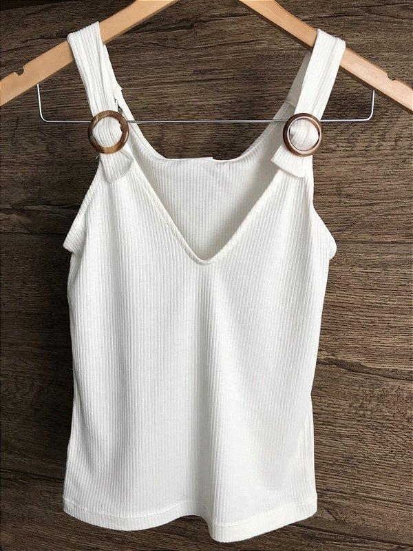 21f8d3db5c regata canelada feminina branca - Leona Closet - Loja Virtual da ...