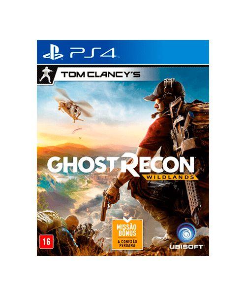 Tom Clancy's - Ghost Recon Wildlands + Missão Bonus - PS4