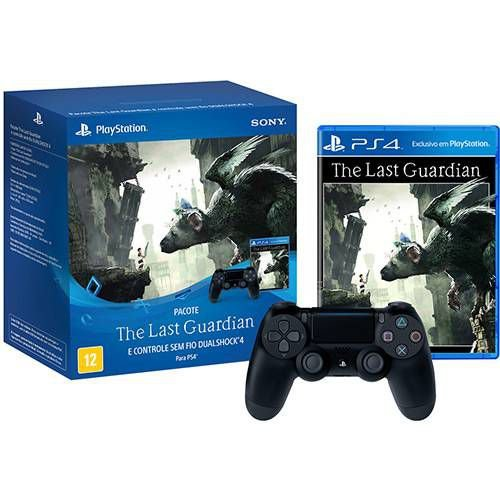 Bundle: Dualshock 4 + The Last Guardian - PS4