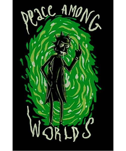 Camiseta Rick and Morty: Peace Among Worlds