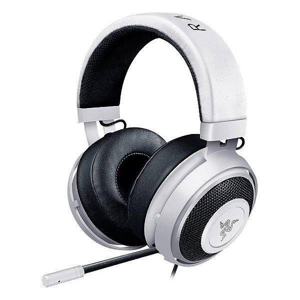 Headset Gamer Razer Kraken Pro V2 - White Oval
