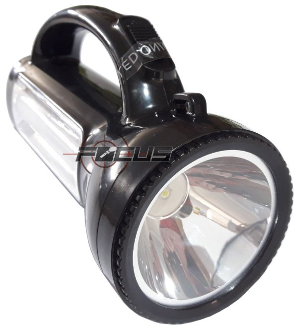 LANTERNA HOLOFOTE REC. 3W + 20 LEDS ID-9899L