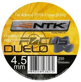 CHUMBINHO DUELO 4.5 C/250PC NTK
