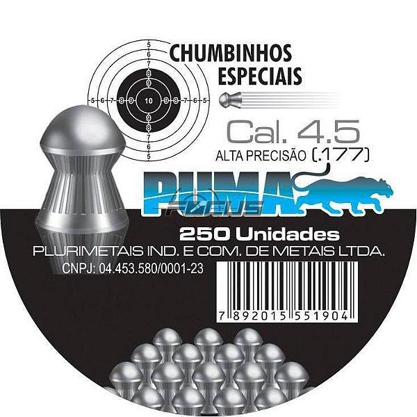 CHUMBINHO PUMA 4.5 MM C/250PC