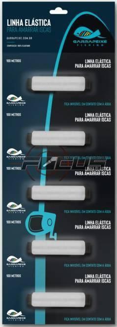 ELASTICO TRANSPARENTE FIXA ISCA C/5PC
