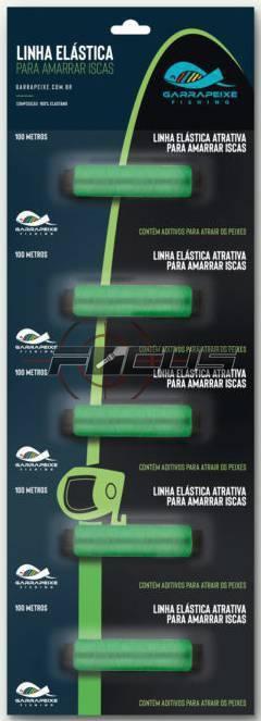 ELASTICO VERDE FIXA ISCA C/5PC