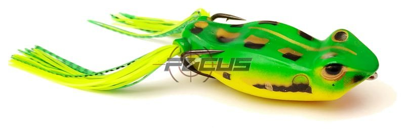 ISCA ARTIFICIAL SILICONE BAIT FROG 13GR. COR 06
